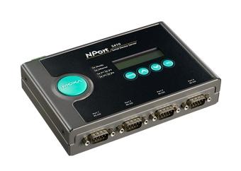 NPort 5410: 4-портовый преобразователь RS-232 в Ethernet, Moxa