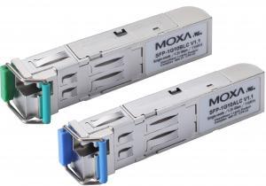 SFP-1G40ALC-T: Оптоволоконный одножильный (WDM) интерфейсный модуль Gigabit Ethernet, разъем LC, 40 Км, тип A, с расширенным диапазоном температур. Работает в паре с модулем SFP-1G40BLC., Moxa